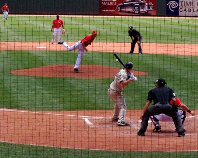 Reds vs. the Rockies in Cincy in July 2008.